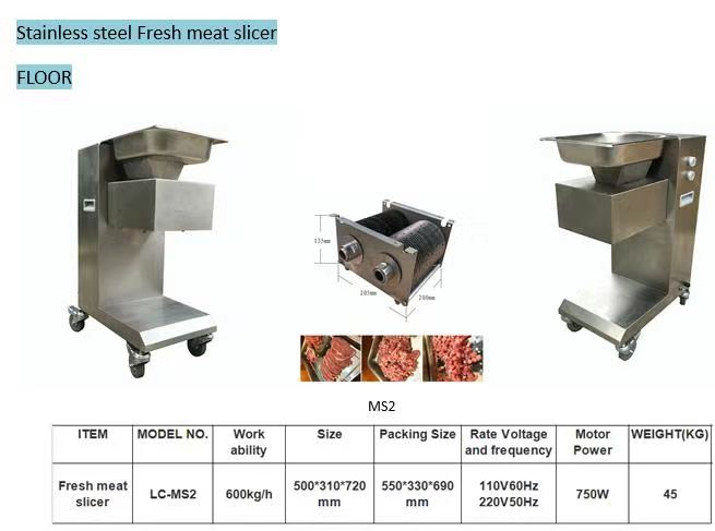 3cm Stainless Steel Kitchen Processing Equipment Meat Slicer Cuber dicers Cutting Machine