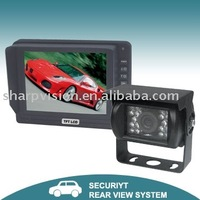 Car Backup Parking System with 5-inch Digital TFT LCD Monitor