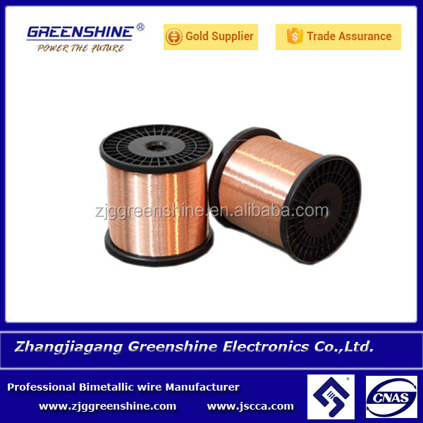 cca wire <strong>copper</strong> clad with welding technology