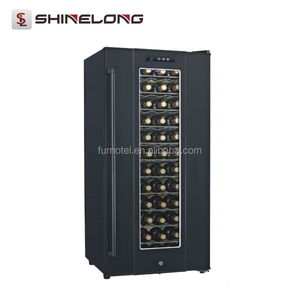 CE Horizontal Semiconductor Electric Wine Refrigerator Cooler Display