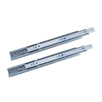 Soft-closing full extension ball bearing telescopic channel 45mm drawer slides