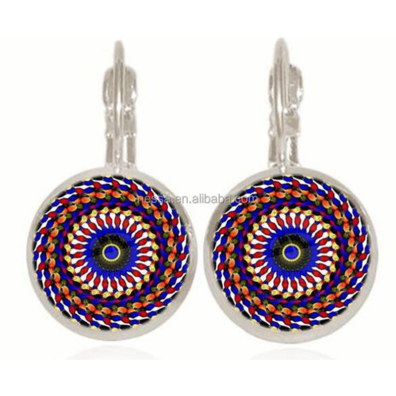 Fashion colorful clip earring online <strong>trading</strong> wholesale NSZQ-0071