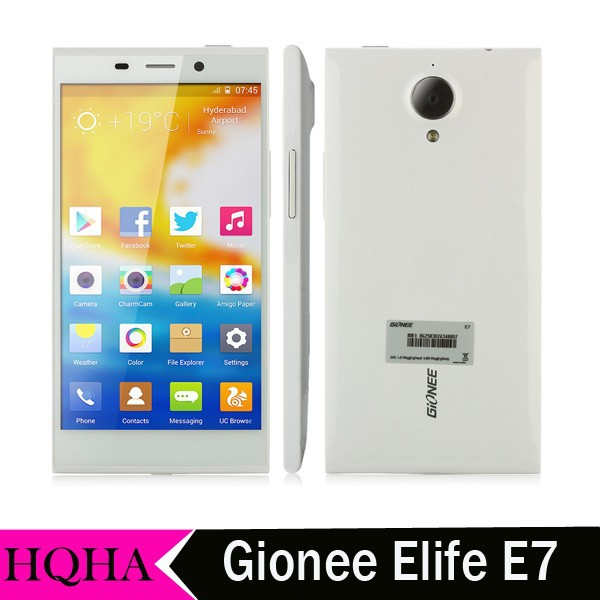 GIONEE ELIFE E7 5.5 Inch FHD Screen Qualcomm Snapdragon 800 Quad Core 3GB Ram 32GB Rom Android 4.2 Cell Phone