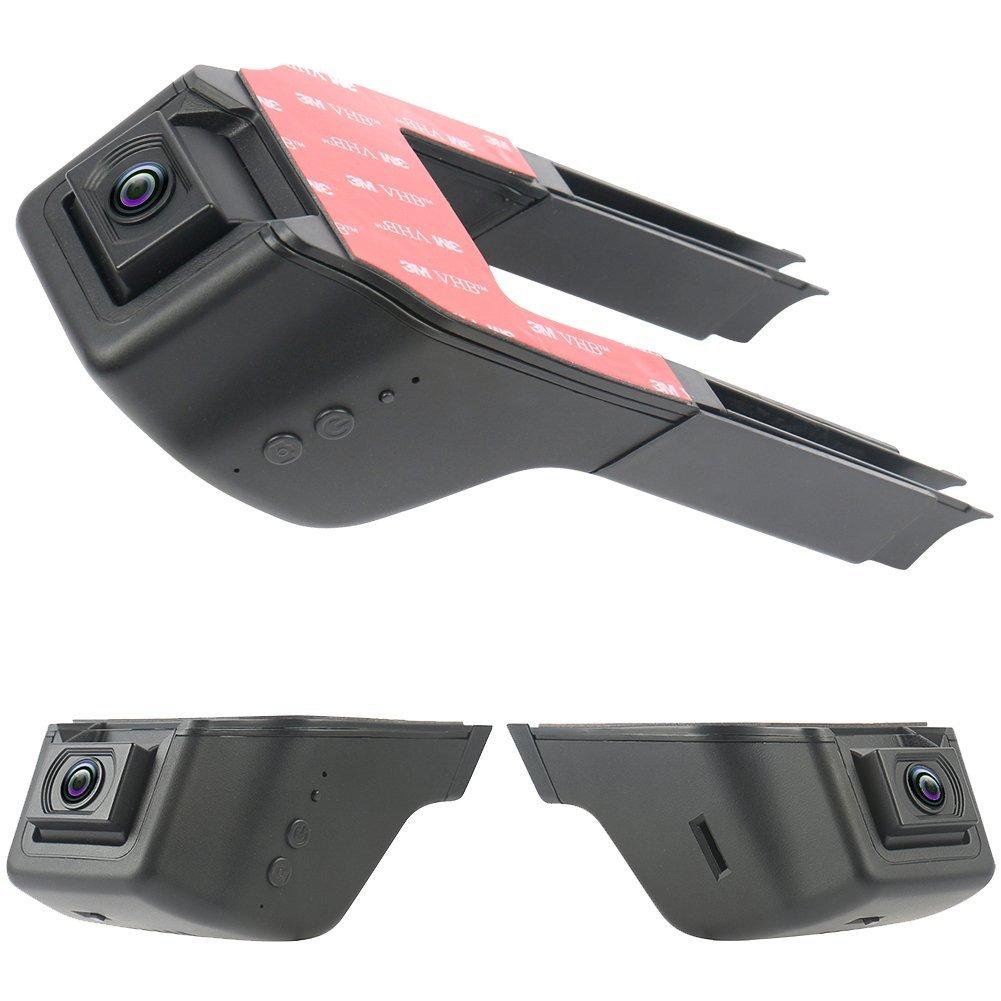 CARBAR 2016 New Full HD 1296P Ambarella A7LA50 Car DVR DVRS Hidden Video Recorder Camera Dash Cam Black Box 30fps ADAS WIFI App MIC WDR HDR