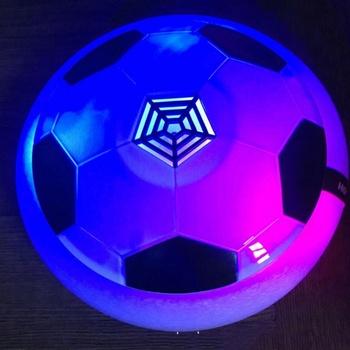 Kinder Air Power Fussball Training Ausrustung Lustige Led Licht Blinkende Kugel Spielzeug Fussball Balle Disc Gleiten Multi Oberflache Schwebt Buy Led