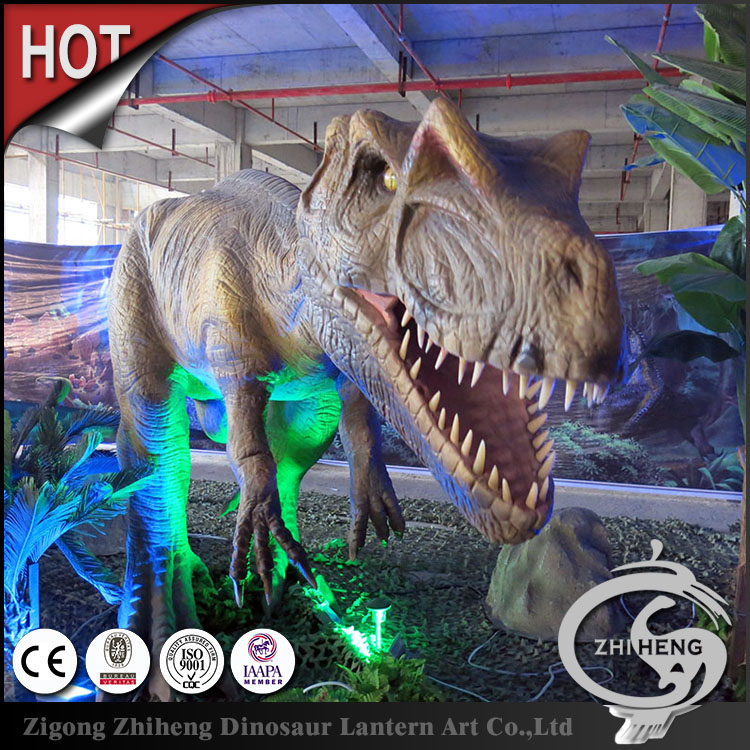 Outdoor Playground Amusement park animatronic dinosaur games