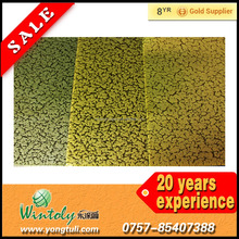 Crackle golden texture Powder coating paint