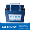 Shenzhen factory provide 24v 20ah lipo battery 24v lithium battery with 10 years warranty