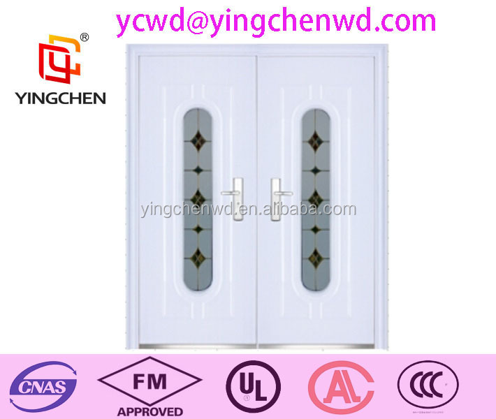 American Tempered Glass Steel Door Exterior Door Security Door