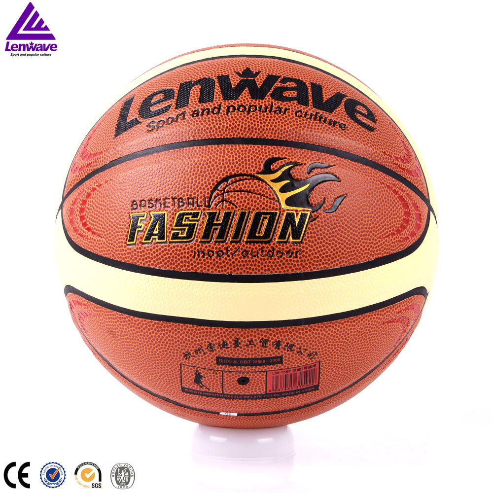 Lenwave brand college-students-game basketball in bulk
