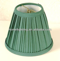 SC-0575 fabric chandelier lamp shade taper trim for home colored green shades for lamps