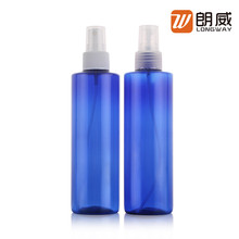 Christmas hot sale Plastic PET 250ml bottle bath shampoo for cosmetic skin care