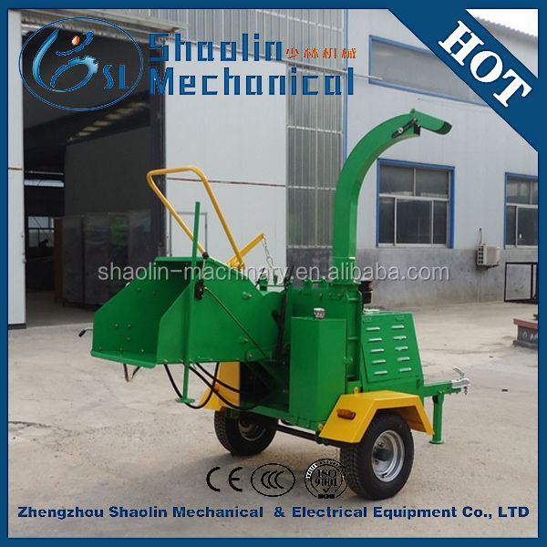 high efficiency waste wood pallet chipper
