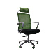 Hot Selling Ergonomic Folding Visitor Sleeping Four Leg Office Desk Computer Chair with Wheels for Fat People