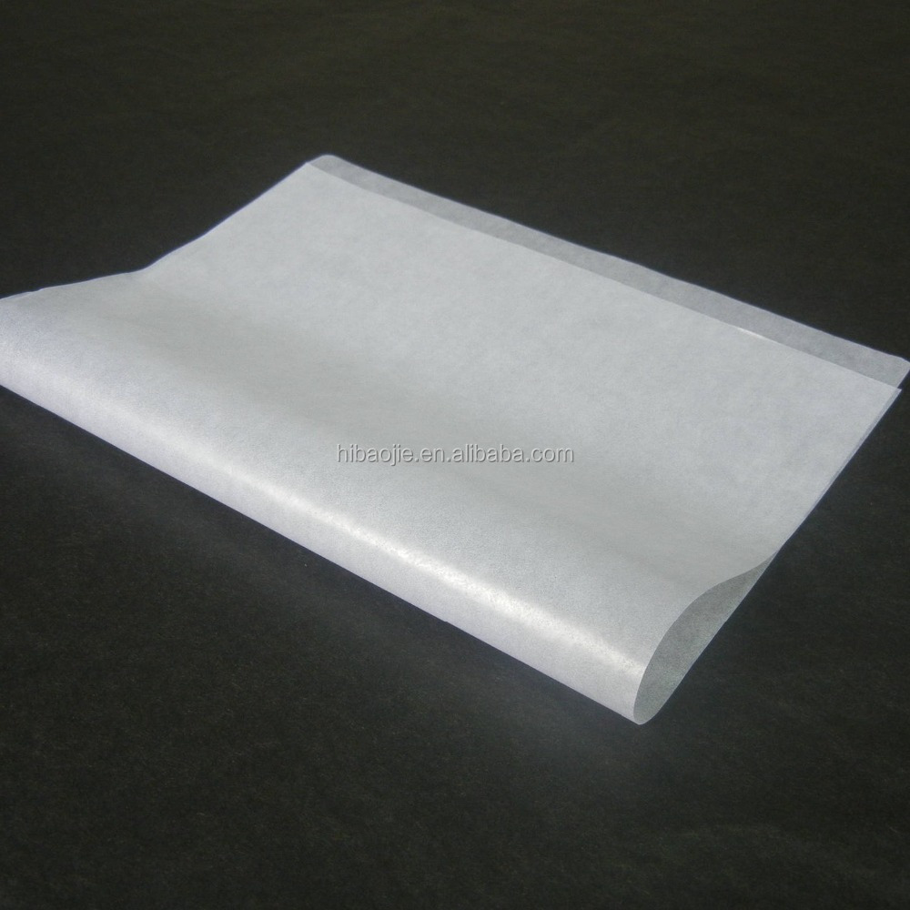 Mositureproof fireworks wrapping glassine paper