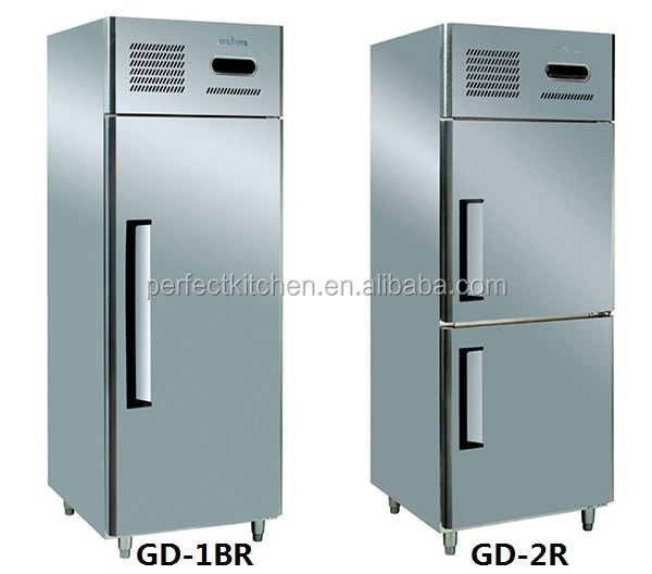 ce hotel sale fan cooling stainless steel commercial freezer deep freezer with prices