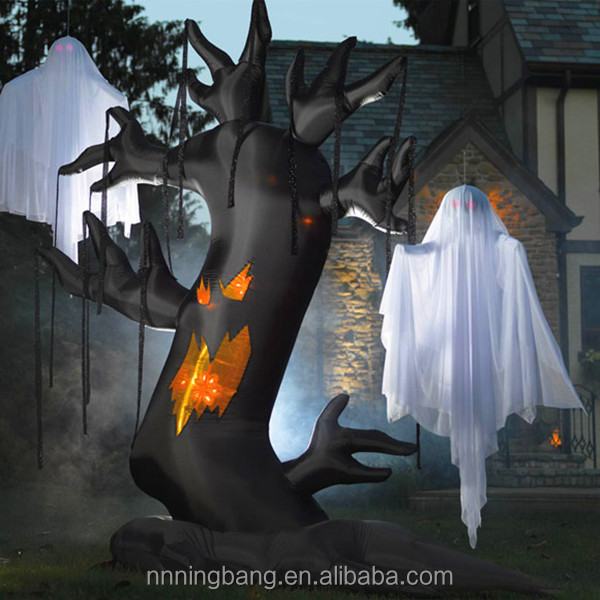 NB Horrible Giant Inflatable halloween ghost