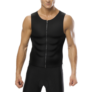 2018 New Fashion Neoprene black quick try men slimming body shaper