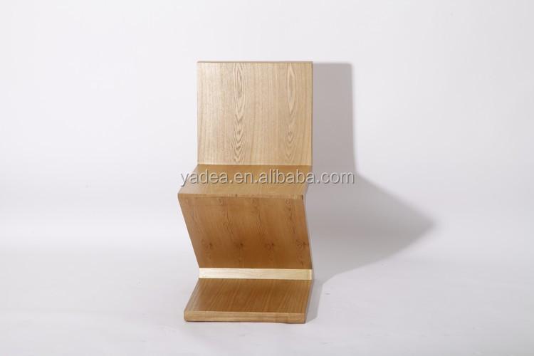Precio de fábrica nuevo diseño de lujo barato silla zig zag ...