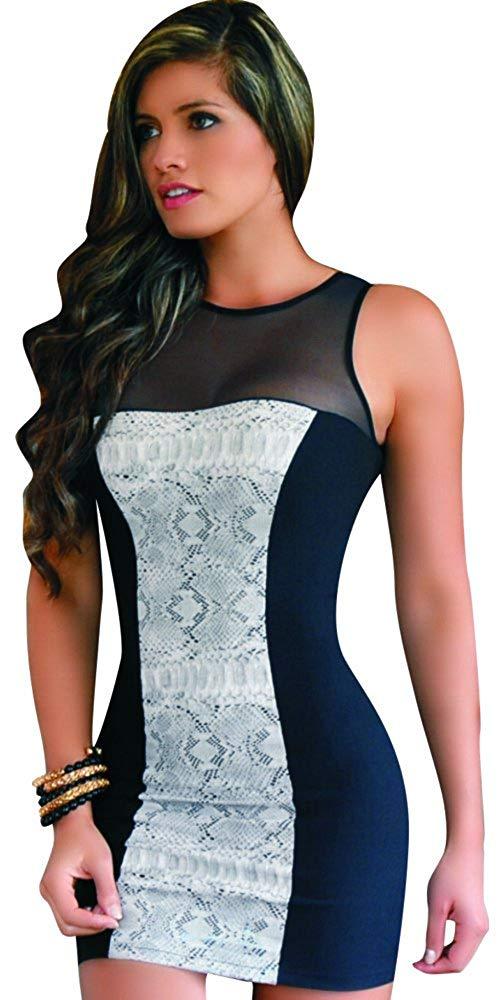 3e66eb563bd19 Get Quotations · Aranza Women s Colombian Waist Shaping Dress
