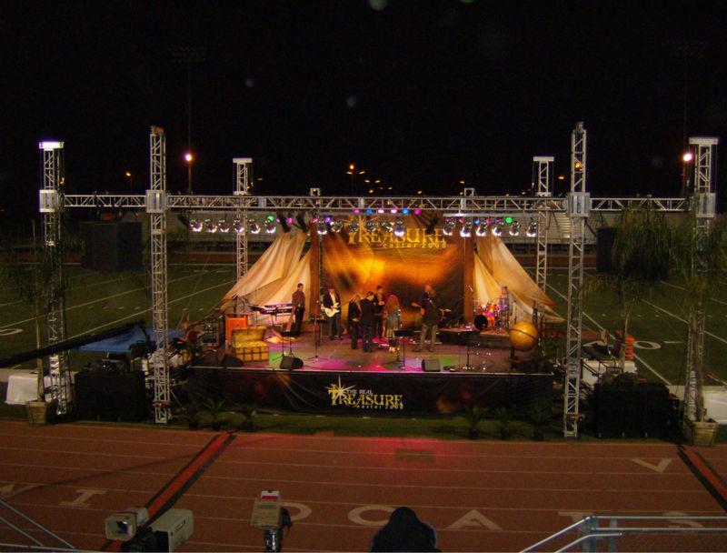 Concert Stage With Metal Frame - Buy Metal Frame,Stage Metal Frame ...