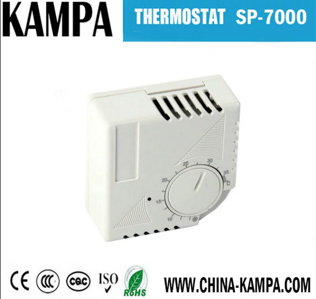 SP-7000A Electric Heating Rotary Switch Digital Thermostat For Floor Heating