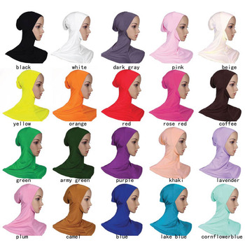 3e2d6491402 Latest Fashion Middle East Women Islamic lady Inner Hijab Single-Lift Cap  Islamic Under Scarf