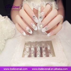 Wholesale Cheap Price Personal Nail Beauty Care Tips 3D Acrylic Artificial Fake Nail