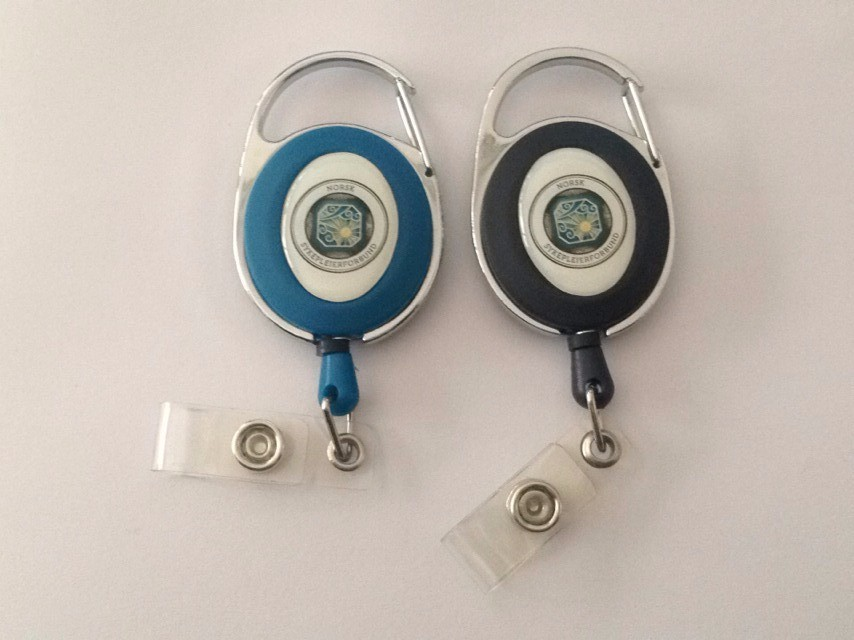 Zinc Alloy Plastic retractable Badger Reel
