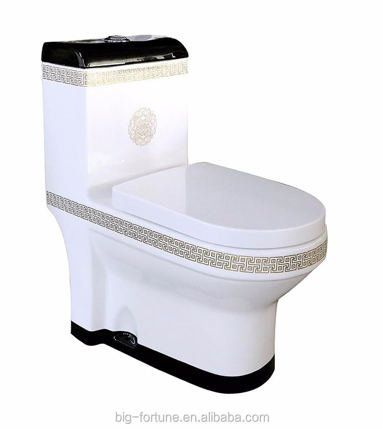Lavage  Grande Eau Fix Au Sol Wc ToiletteWc Chimique Pour La