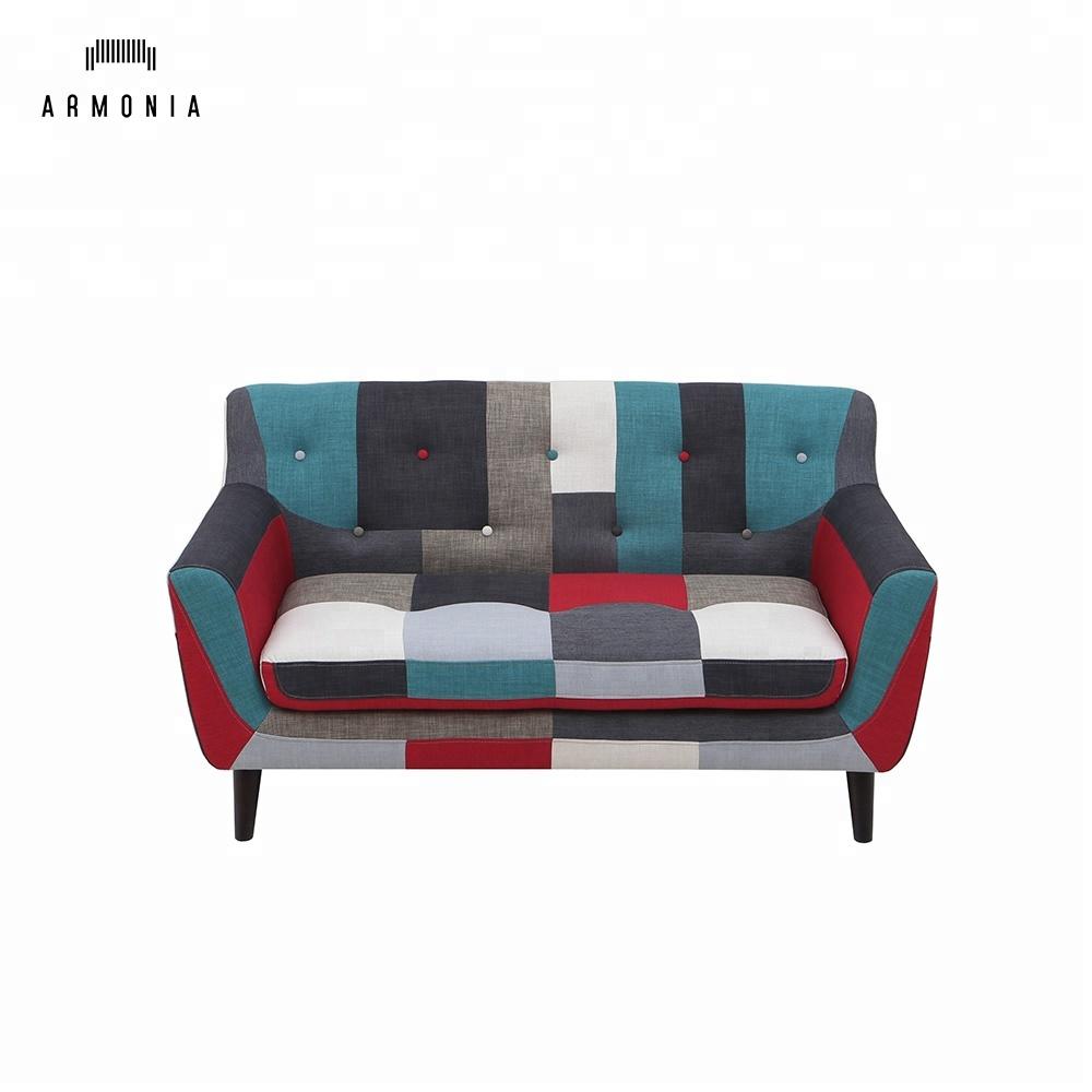 Außergewöhnlich Sofa Patchwork Ideen Von Fabric Chestfiled Soft Furniture - Buy Soft