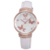Newest Stylish Water Resistant Your Own Logo Custom Brand PU Band Women Fashion Hand Watch with Japanese Movement