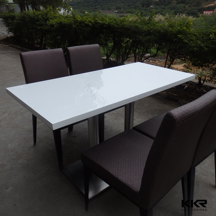 Solid Surface Kitchen Top / Korean Solid Surface Table Top