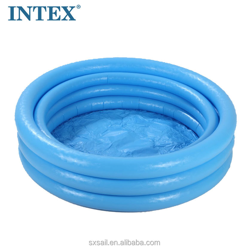 INTEX Children's Inflatable Blue Crystal Swimming Pool