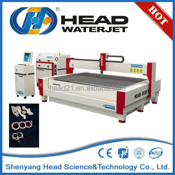 Engineering metals cut special water jet tool steel cutting machine