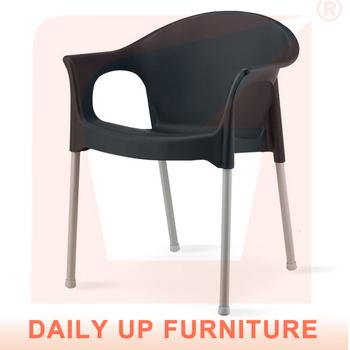 Import Furniture From China Plastic Indoor Dining Chair Outdoor Garden Broaden Seats Easy Installed Steel