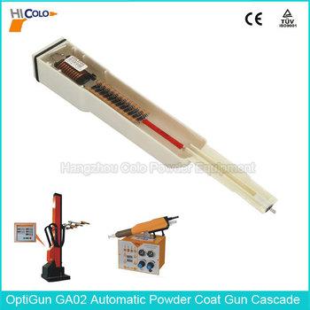 393 703 Optigun Ga02 Automatic Powder Gun Negative Polarity Hv ...