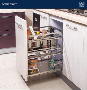 Apothekerskast Voor In De Keuken.Nieuwe Aankomst Roestvrij Staal Trek Keuken Apothekerskast Gfr213