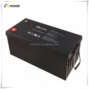 CSPOWER storage 12v 180ah battery gel battery with CE,IEC,ISO