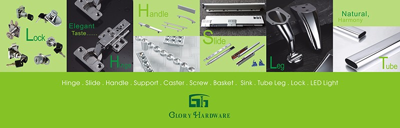 powder coating Furniture drawer metal slide