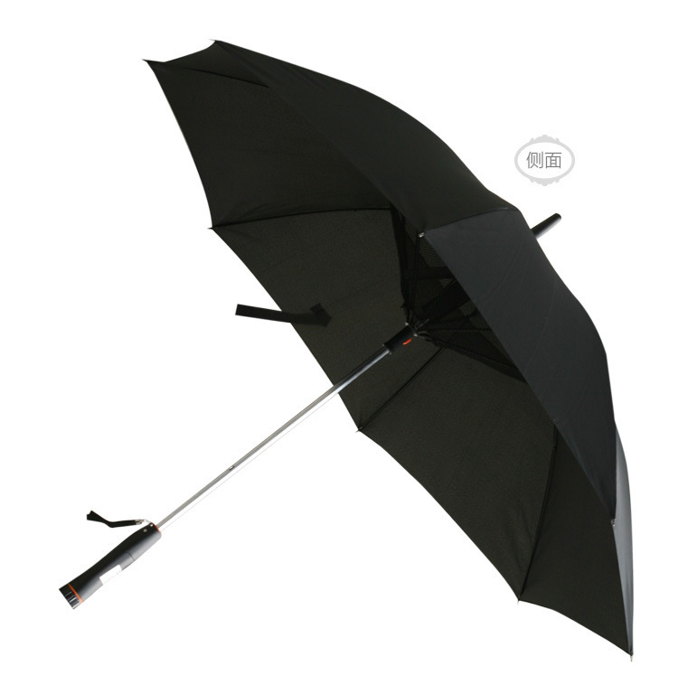 2017 big new manual outdoor umbrella with fan