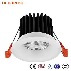 Low Price IP20 7W Gimbal Recessed LED Downlight COB Down Light Part