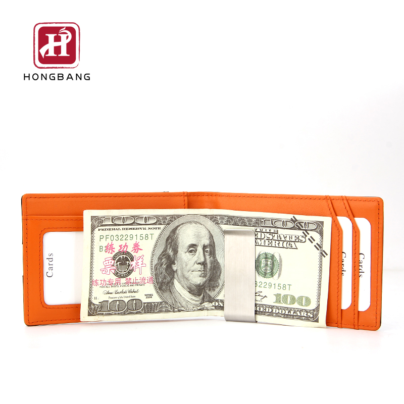 For amazon seller PU RFID Blocking leather men leather <strong>wallet</strong>