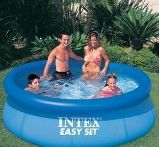 Portable intex rubber swimming pool with wholesale price in 1 piece buy portable swimming pool for Can babies swim in saltwater pools
