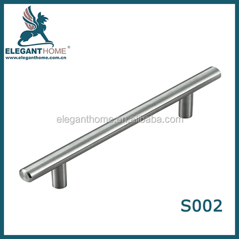 Furniture Hardware Modern Solid Stainless Steel Kitchen Cabinet Handles Bar T Handle