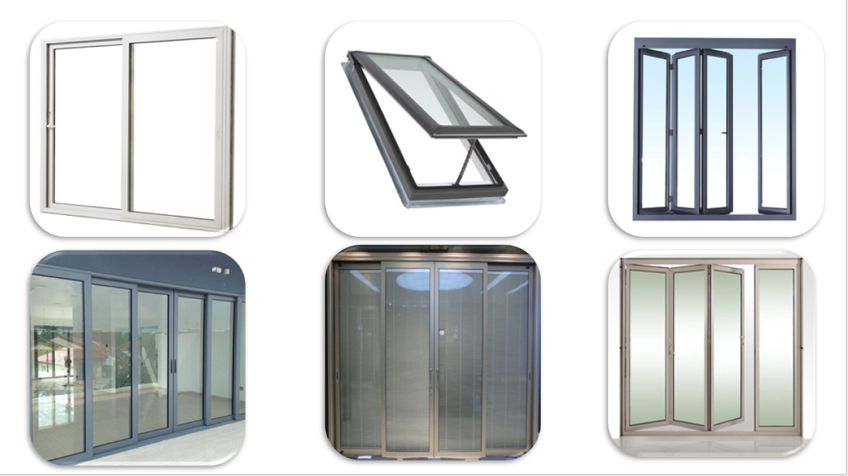 กระจกนิรภัยหนา 12 มม. และย้อมสีสำหรับประตูและหน้าต่าง