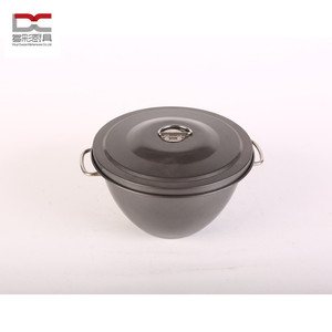 special shape mini carbon steel marble non-stick coating dutch oven sauce pot