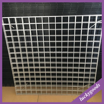 wholesale 1x1m popular selling metal grid sheet for artificial