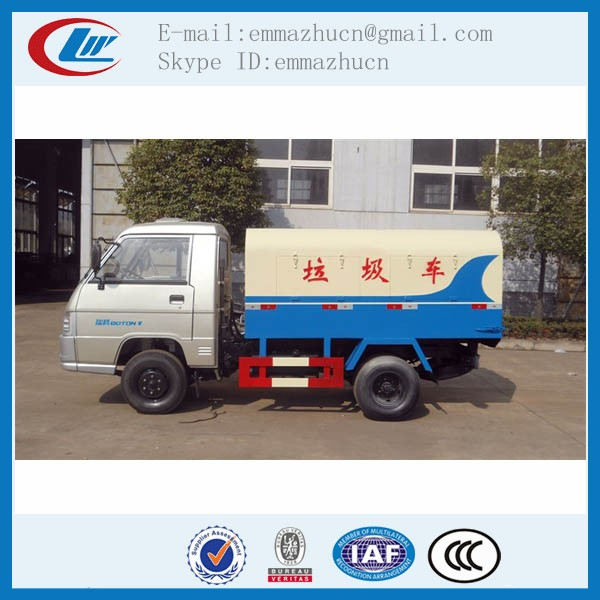 foton forland mini model garbage trucks