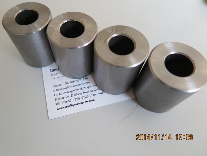 High quality hardened small sleeve bushing flanged steel
